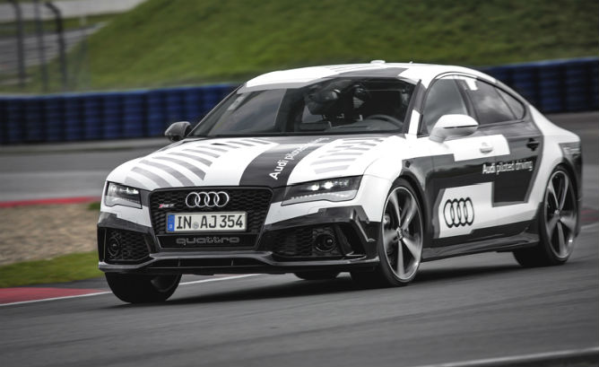 Meet Bobby: Audi's driverless race car