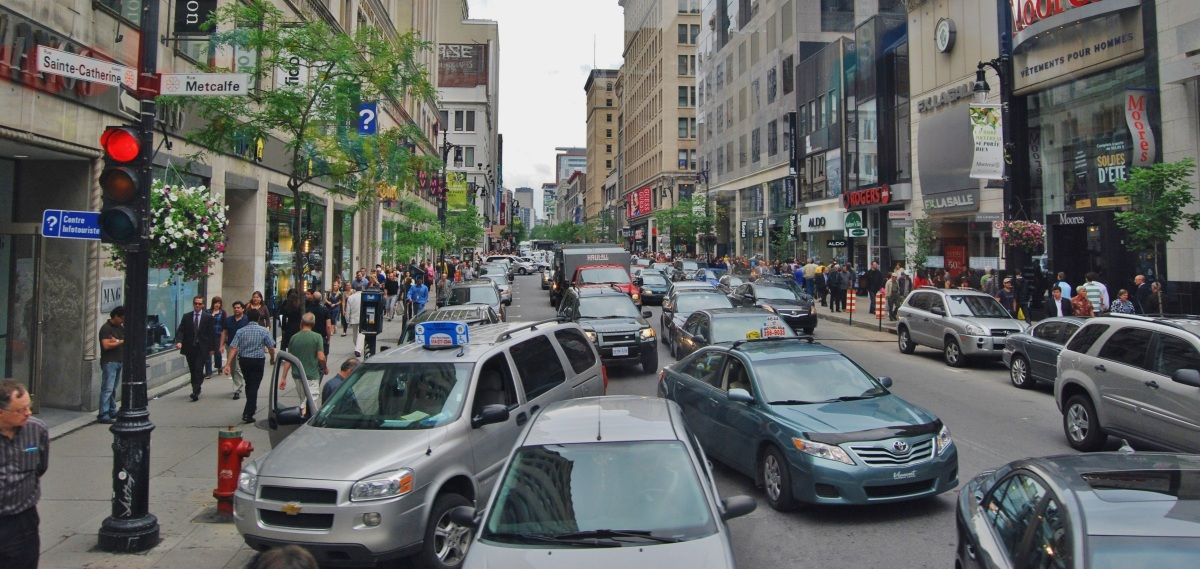 Canadians will waste 330 Billion$ on traffic by2030