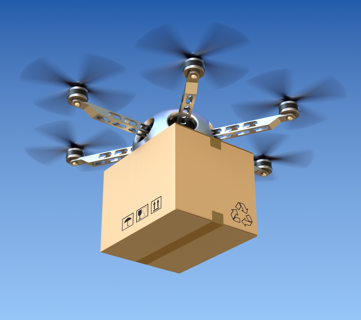 The drones arecoming!