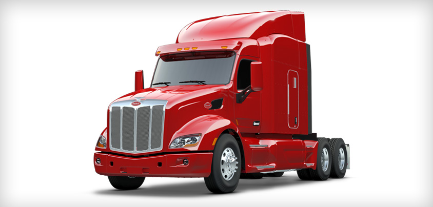 Peterbilt demos self-drive