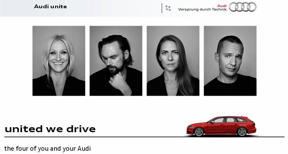 Sharing …Audi style