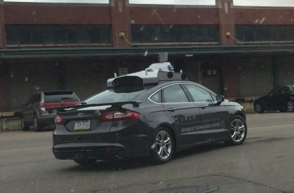 Uber's driverless car