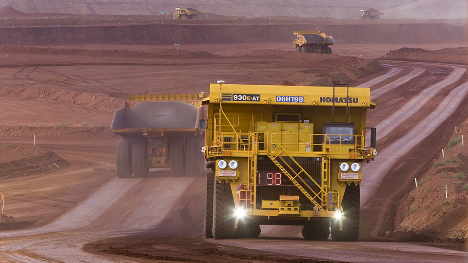 Canada's oilsands turn to self-driving trucks